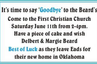 Farewell - Delbert & Margie Beard