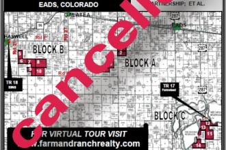 7,000+ Acres Cropland Auction - Cancelled