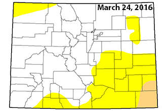 Southeast Colorado Slips into Drought