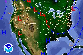 Weather Outlook – the Week Ahead