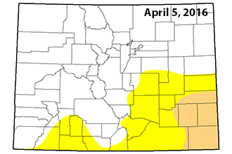 Drought Conditions Continue Expanding in SE Colorado