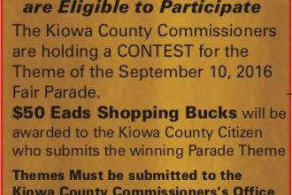 Win $50 for Submitting Fair Parade Theme