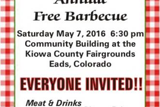 Annual Unity Lodge Barbecue Set for May 7
