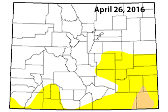 No Change in Colorado Drought Conditions