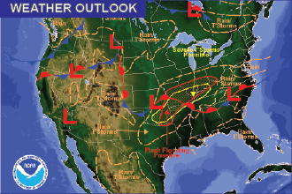 Weather Outlook – the Week Ahead: Hot, Drier