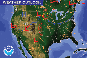 Weekend Weather Outlook: Storms Continue, Tornado Risk Friday