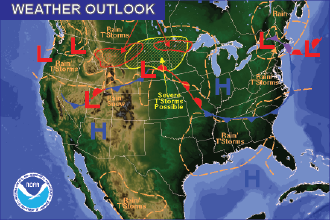 Weather Outlook – the Week Ahead: Hot, Dry