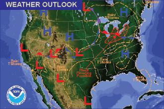 Weather Outlook – the Week Ahead: Rain Sunday, Cooler