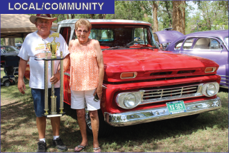 Morgans Win Best of Show at Ordway Car Show