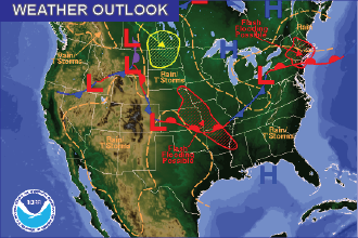 Weather Outlook: the Week Ahead – Afternoon Thunderstorms