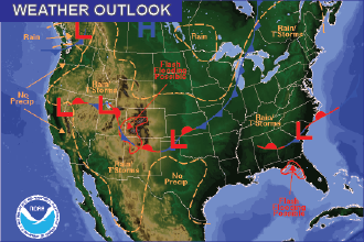 Weekend Weather Outlook: Monsoon Moisture Continues