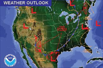 Weather Outlook – the Week Ahead: Brief Warming