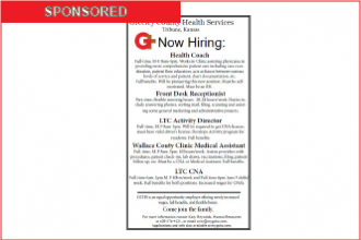 Greeley County Health Services is Hiring