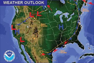 Weather Outlook – the Week Ahead: Cooler, Unsettled