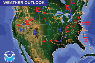 Weather Outlook – the Week Head: Hot, Mainly Dry