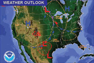 Weather Outlook – the Week Ahead: Cooler Start, then Warming