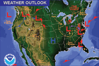 Weekend Weather Outlook – Fall Weather Continues