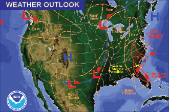 Weekend Weather Outlook: Warm and Mostly Dry