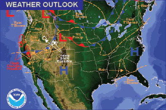 Weather Outlook: the Week Ahead – Fire Weather, Chance of Snow