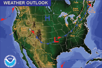 Weekend Weather Outlook: Cooler, Still no Rain
