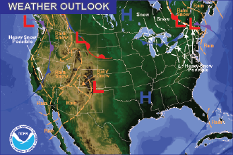 Weather Outlook – the Week Ahead: Sunny, Dry for Thanksgiving