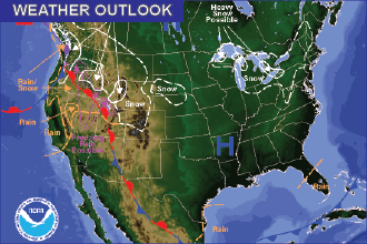 Weekend Weather Outlook – Brief Warming