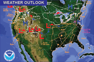 Weather Outlook – the Week Ahead: Dry, Warmer Start