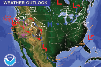 Weather Outlook – Don't be Fooled by the Next Few Days