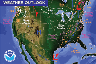 Weather Outlook – the Week Ahead: Warm(er)