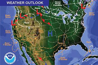 Weekend Weather Outlook: Warm Friday, Cooler Next Week