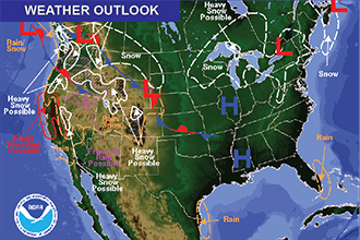 Weather Outlook – the Week Ahead: Much Warmer Start