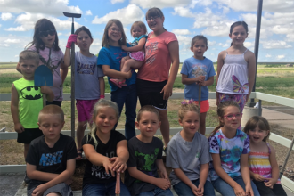 Kiowa County 4-H Cloverbuds Garden Projects