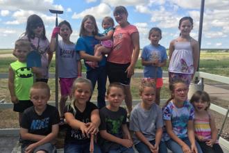 Kiowa County 4-H Cloverbuds Garden Projects