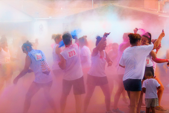 First Prairie Pines Color Dash Raises $1,000