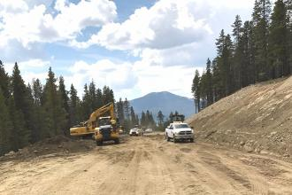 Hunter Alert - Construction Closes Cottonwood Pass Road into Taylor Park