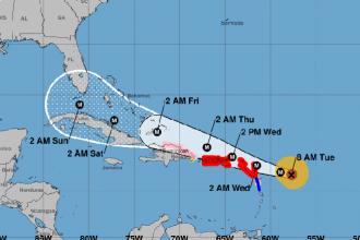 Hurricane Irma Reaches Category 5 – Continuing Toward US