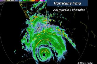 Hurricane Irma Will Strike Florida Tonight