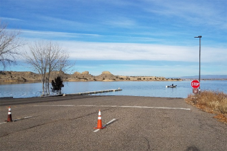 High Water Forces Lake Pueblo to Close South Marina Boat Ramp
