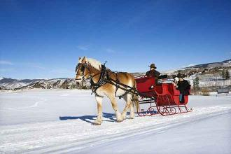 5 of the Best Sleigh Rides in Colorado