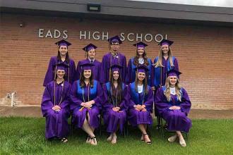 10 Eads High School seniors receive diplomas today