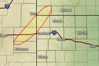 Multiple tornadoes spotted as severe thunderstorm watch expanded to most of northeast Colorado
