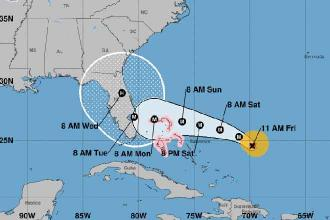 Hurricane Dorian's projected Labor Day landfall draws comparisons to savage 1935 storm