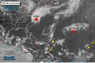 With Dorian departed, Florida officials exhale – with wary eye to eastern Atlantic