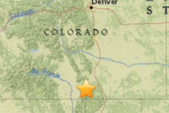 Earthquake in Costilla County