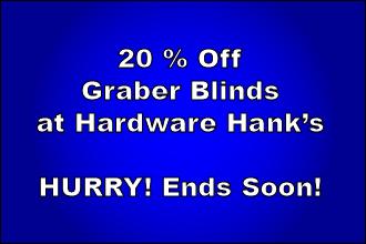 20 Percent Off Graber Blinds