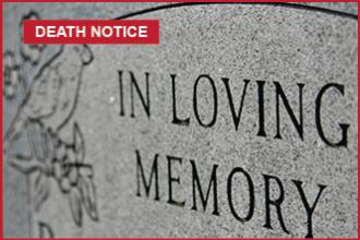 Death Notice - Lois McCracken