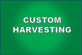 Custom Harvesting