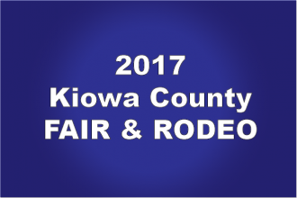 Horse Racing at the 2017 Kiowa County Fair