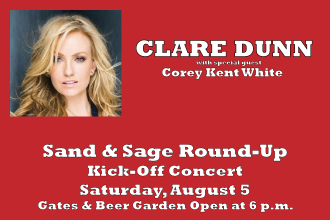 Clare Dunn in Concert at the Sand & Sage Round-Up
