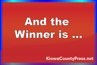 Who Won the TV from Plains Network Services and KiowaCountyPress.net?